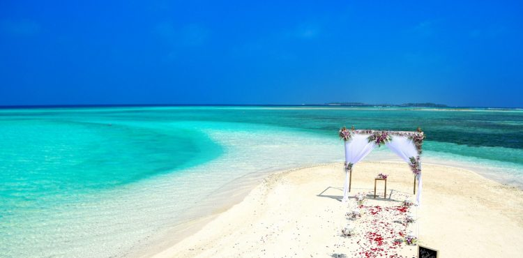 trouwen op de Malediven