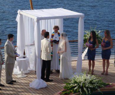 trouwen op een cruise