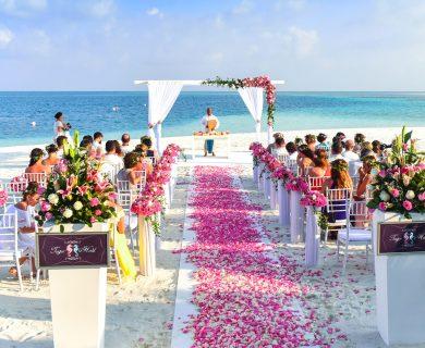 trouwen op het strand ibiza